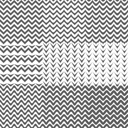 zag: Set of Zig Zag Patterns Background