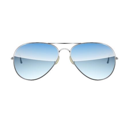 Aviator Glasses isolated on a white background Vector Illustration Illusztráció