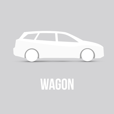 sample: Sample Car Icon Isolated Vector illustration