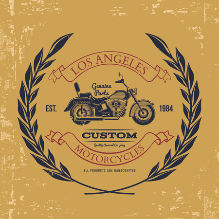 indianapolis: Motorcycle vintage graphics, t-shirt typography, Vintage. Vector Illustration
