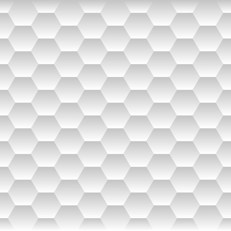 Naadloze Honeycomb. Hexagon Achtergrond Patroon. vector illustratie