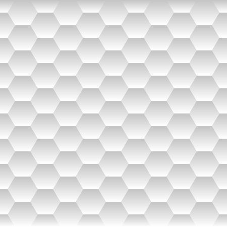 Zökkenőmentes Honeycomb. Hexagon háttér mintázat. Vektor illusztráció Illusztráció