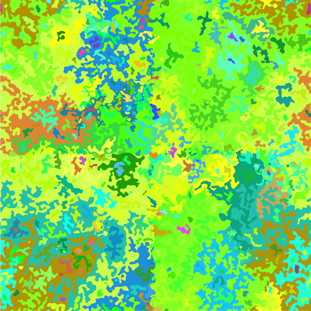 camoflage: Abstract Colorful Camouflage Seamless Pattern. Vector illustration