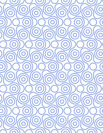 Spinner Fidget Seamless Pattern Background Vector illustration