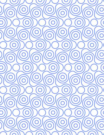 Spinner Fidget Seamless Pattern Background. Vector illustration