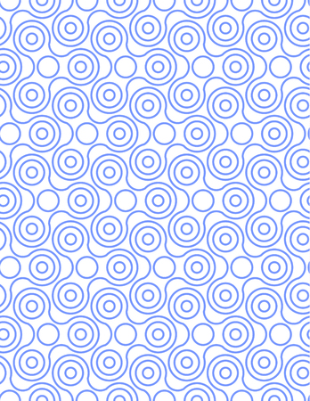 Spinner Fidget Seamless Pattern Background. Vector illustration