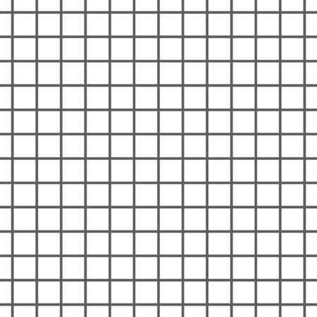 Grill Pattern Geometric Background Black and White. Vector
