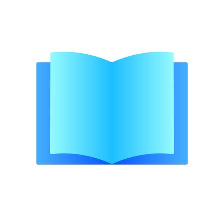 book icon. sign flat design modern style. Vector