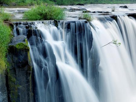 Tad-Pa Suam Wasserfall, Champasak Provinz, Süd-Laos. Standard-Bild - 11122506