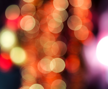 defocus: Colourful Bokeh background for use at graphic design  Stock Photo
