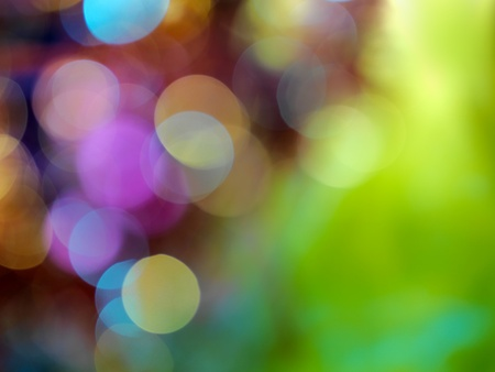 Abstract background -soft  xmas lights