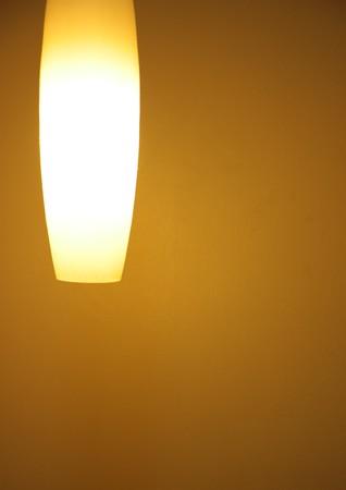 Retro lamp in the dark room  photo