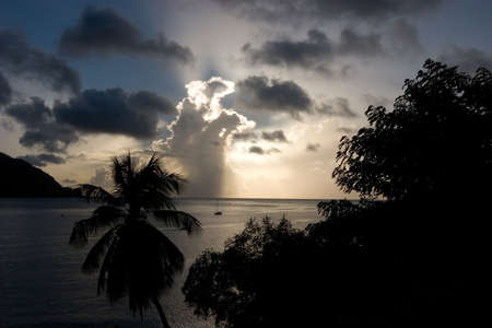 carribean: Carribean sunset