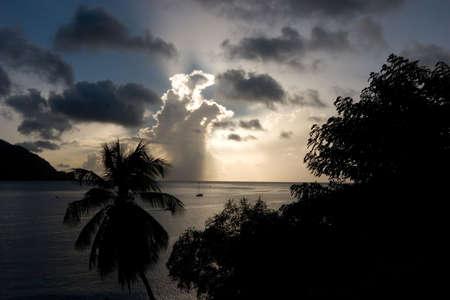 carribean: Carribean sunset