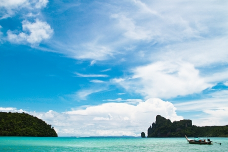 beautiful beach at Phi Phi island photo