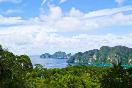 View point of Phi Phi island  photo