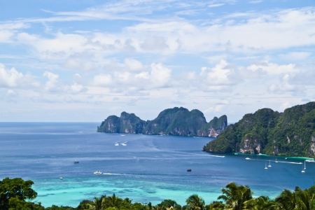wonderful view point Phi Phi island  photo
