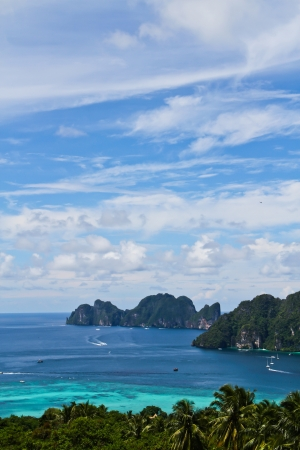 Best view of beautiful ocean Thailand photo