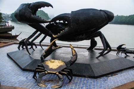 Giant crab  Stock Photo