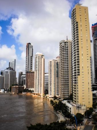 Brisbane city flood