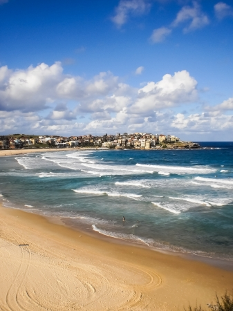 Bondi beach,Sydney is one of the most famous beach in the world