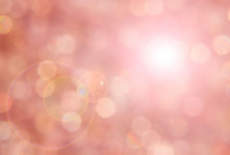Pink sparkling light of silica gel with the sun shine.