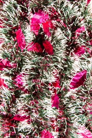 tuft: Decoration ribbon tuft close up background .