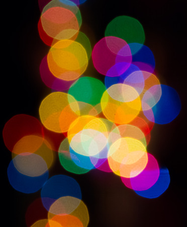 Colorful decoration light for celebrating.
