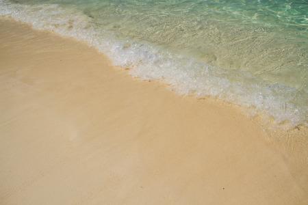 similan: White sand at Similan island.