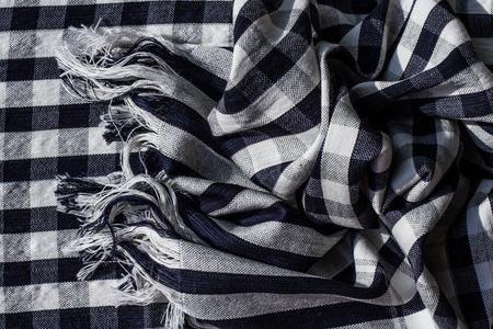 scott: Black and white scott scarf background.