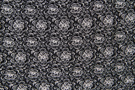 Black and white abstract flower print fabric stock photo picture black and white abstract flower print fabric stock photo 44045486 mightylinksfo