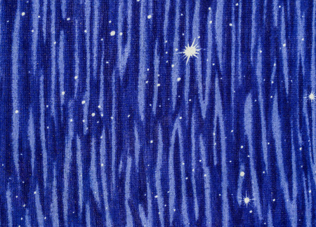 mongoloid: Abstract star fabric close up background.