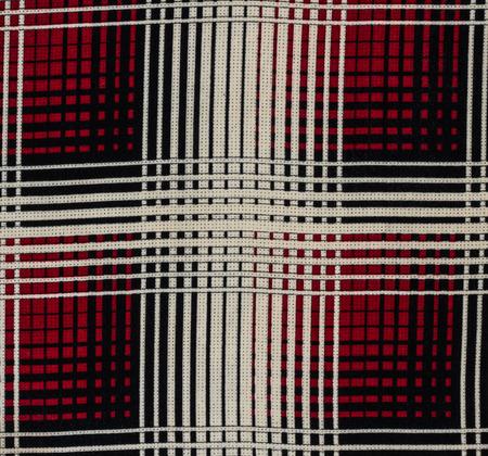 scott: Scott pattern fabric close up background. Stock Photo