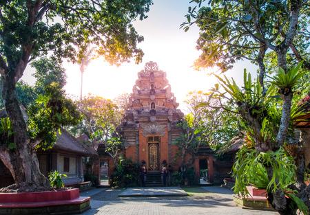 Ubud palace in Bali,Indonesia.