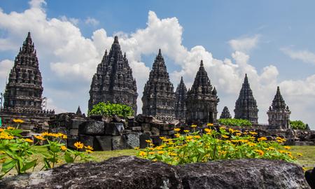 YOGYAKARTA: Prambanan temple in Yogyakarta,Indonesia.