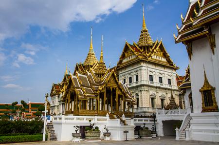 Thai Grand palace in Bangkok,Thailand. Editorial