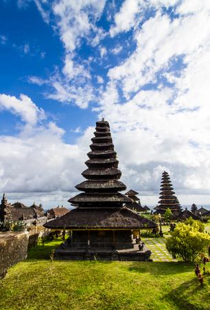 pura: Architecture of Pura besakih in Bali,Indonesia. Stock Photo