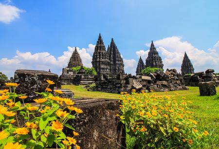 prambanan: Prambanan temple in Yogyakarta,Indonesia.