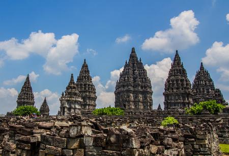 Prambanan temple in Yogyakarta,Indonesia.