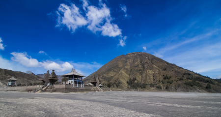 Hindo temple on the way to Mt.Bromo.