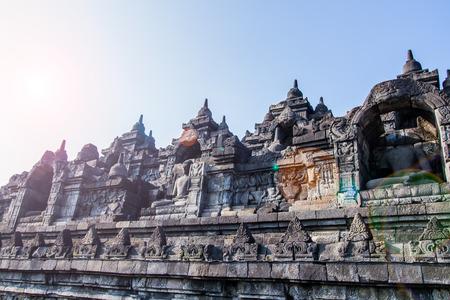 Borobudur 's World Herritage in Yogyakarta,Indonesia.