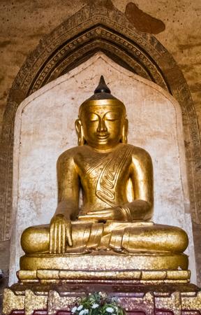 Buddha image in Burmese style.