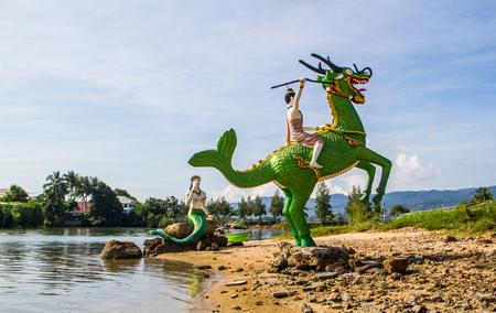 Thai tale character 'Pra Apaimanee