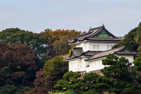 Imperial palace in Tokyo,Japan.