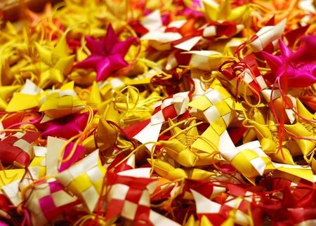 sachets: Bolsitas coloridas Foto de archivo