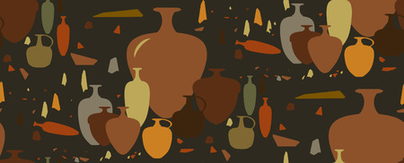 artisan: Israeli archaeological amphoras and ceramic vessels.
