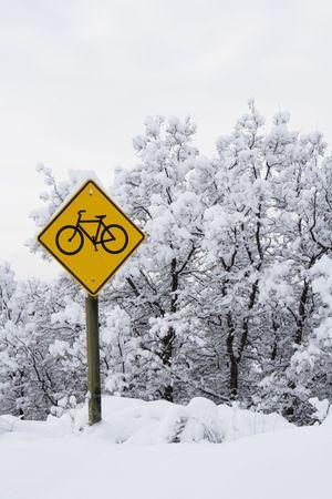 Bicycle sighn photo