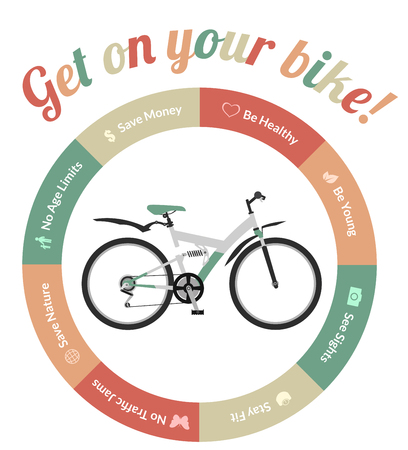 advantages: Advantages of riding a bicycle or bike, be healthy, save nature, save money, see sights, no traffic jams and so on.