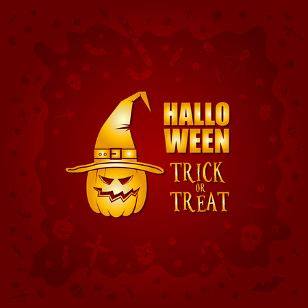 Halloween Sale Or Special Discount Offer Colorful Emblem With ...