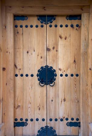 Style Tradition coréenne ancienne porte Banque d'images